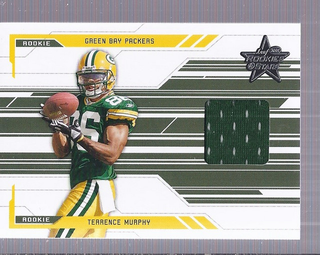 2005 Leaf Rookies and Stars #276 Terrence Murphy JSY RC