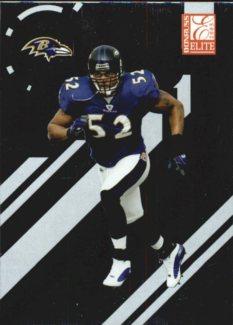2005 Donruss Elite #10 Ray Lewis