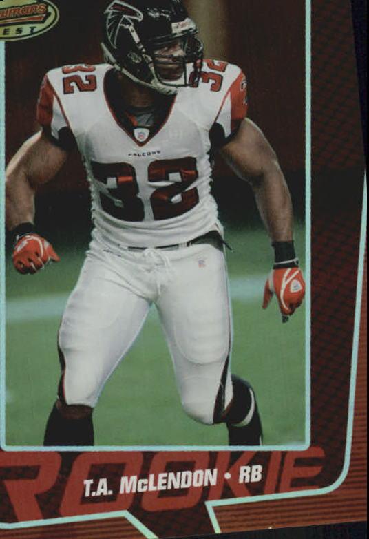 2005 Bowman's Best Red #81 T.A. McLendon
