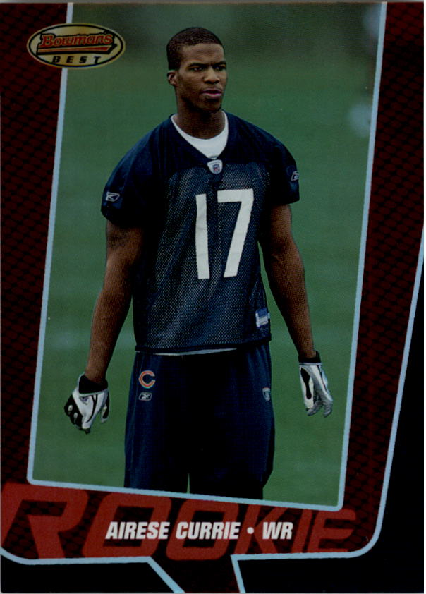 2005 Bowman's Best Red #86 Airese Currie