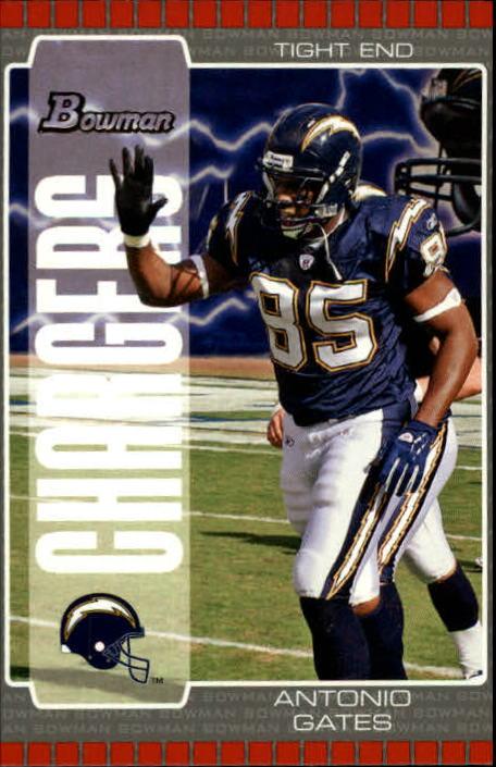 2005 Bowman #2 Antonio Gates
