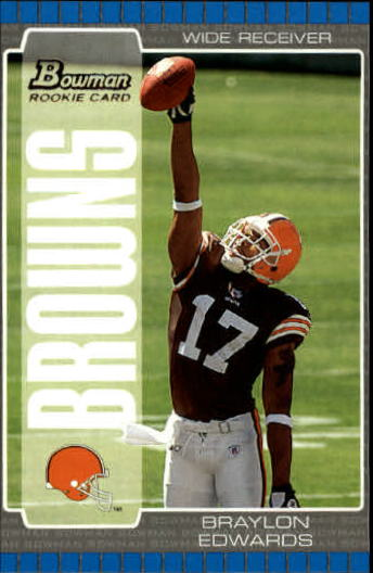 2005 Bowman #111 Braylon Edwards RC