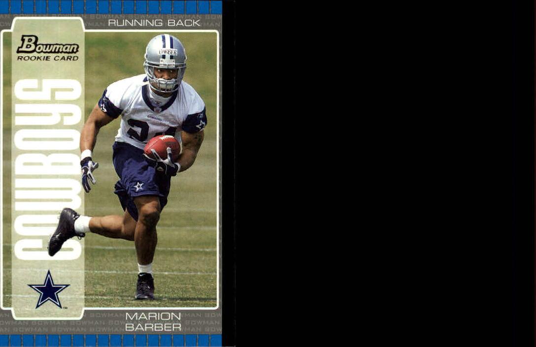 2005 Bowman #124 Marion Barber RC
