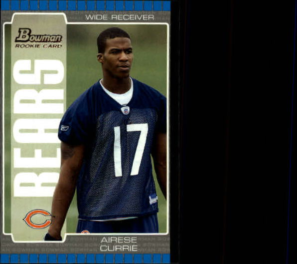 2005 Bowman #139 Airese Currie RC