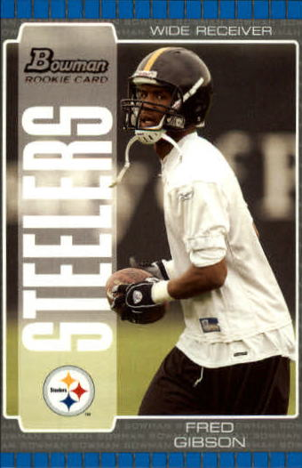 2005 Bowman #157 Fred Gibson RC