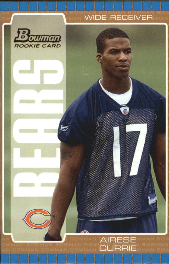 2005 Bowman Bronze #139 Airese Currie