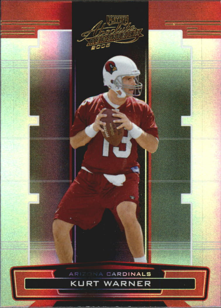 2005 Absolute Memorabilia #2 Kurt Warner