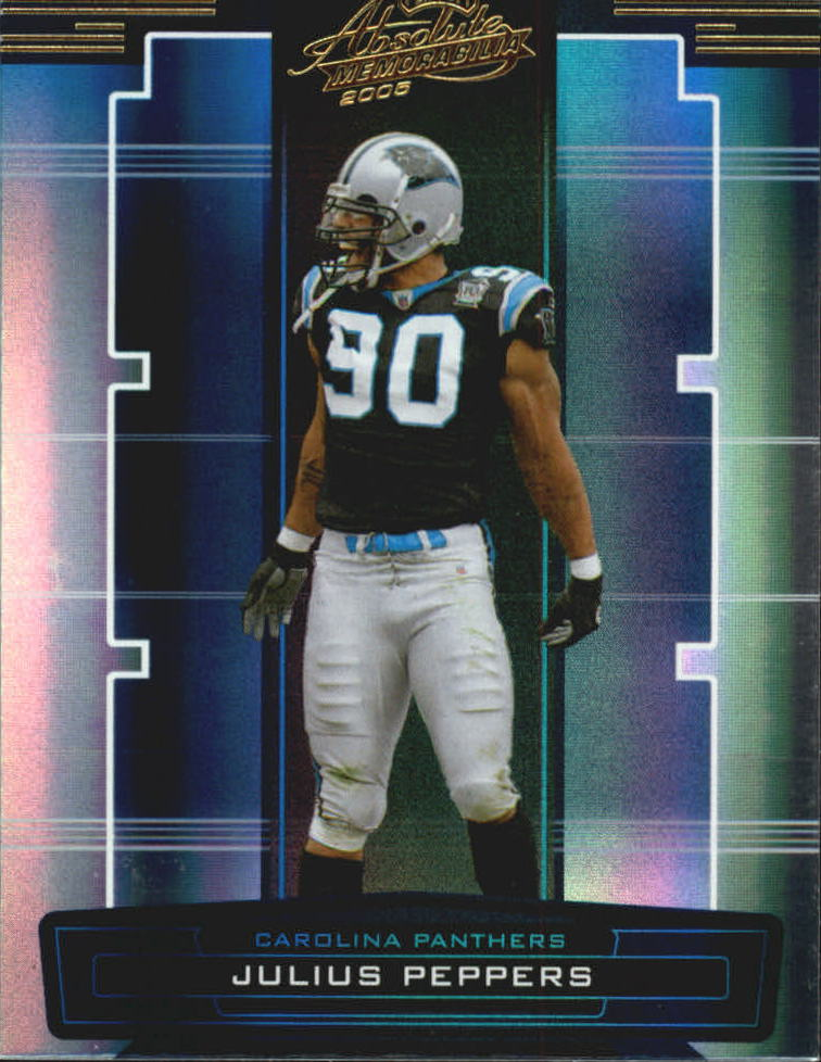 2005 Absolute Memorabilia #24 Julius Peppers