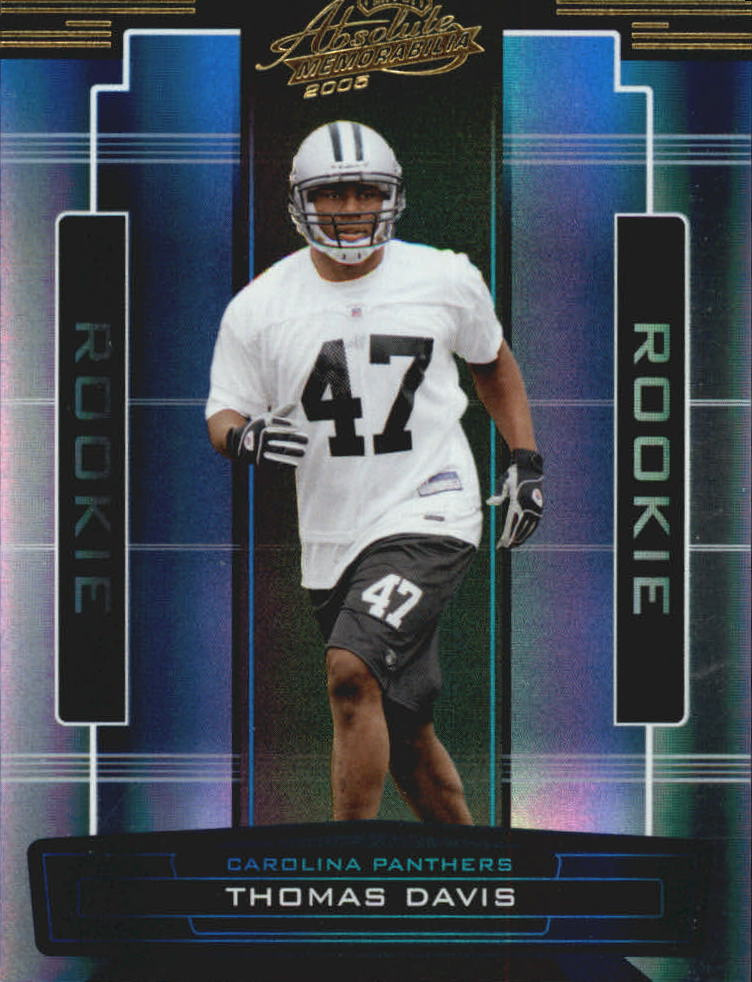2005 Absolute Memorabilia #153 Thomas Davis RC