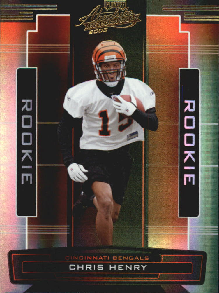 2005 Absolute Memorabilia #165 Chris Henry RC