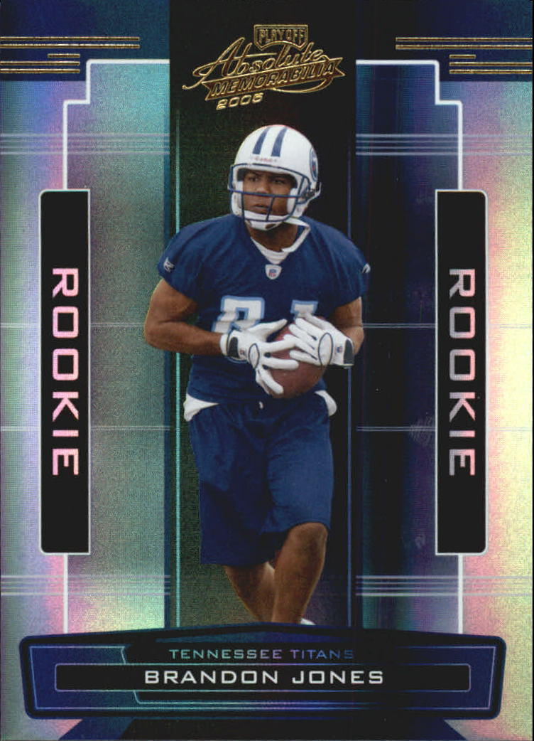 2005 Absolute Memorabilia #166 Brandon Jones RC