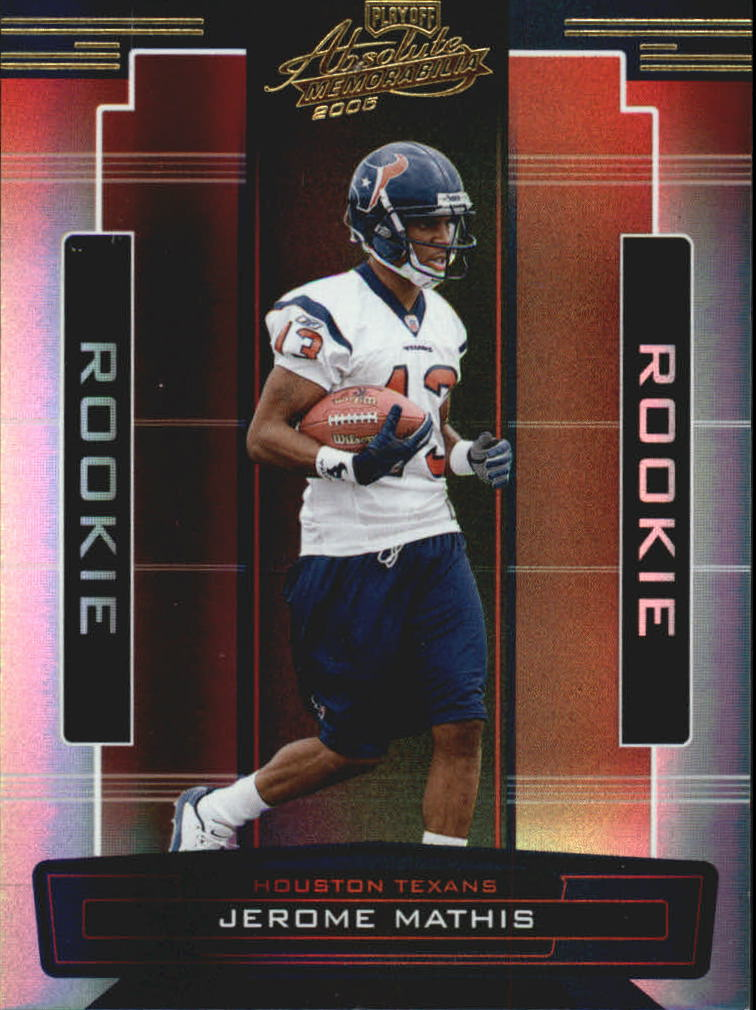 2005 Absolute Memorabilia #169 Jerome Mathis RC
