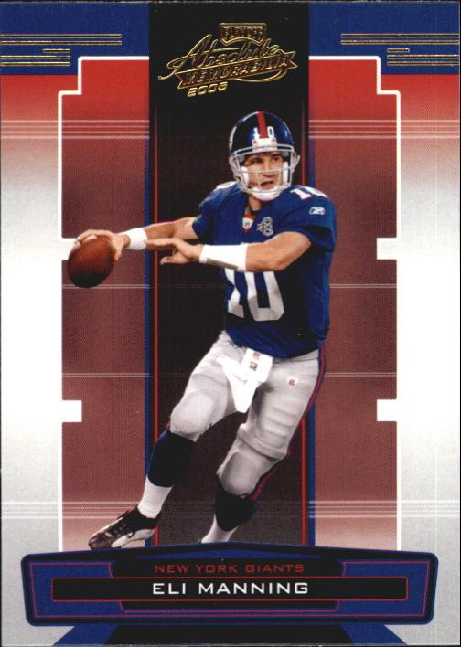 2005 Absolute Memorabilia Retail #100 Eli Manning