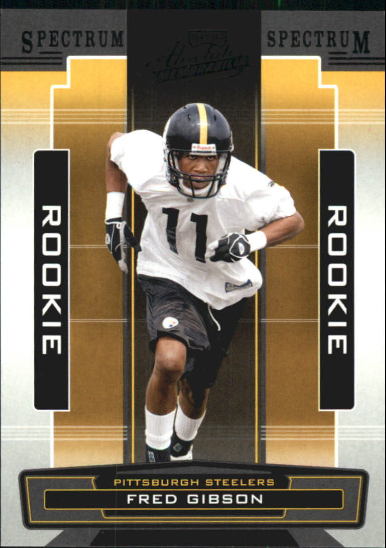 2005 Absolute Memorabilia Spectrum Black Retail #173 Fred Gibson