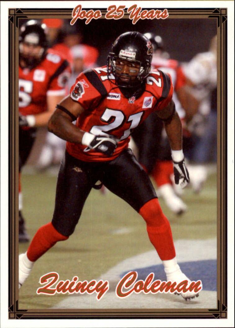 2005 JOGO #19 Quincy Coleman