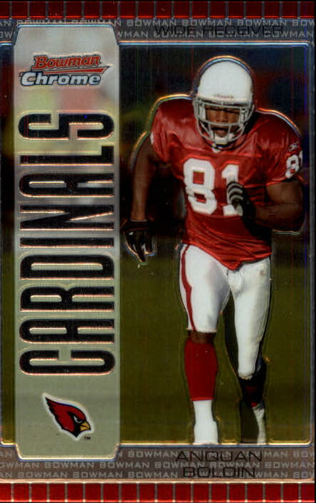 2005 Bowman Chrome #3 Anquan Boldin