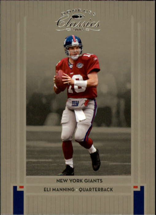 2005 Donruss Classics #62 Eli Manning