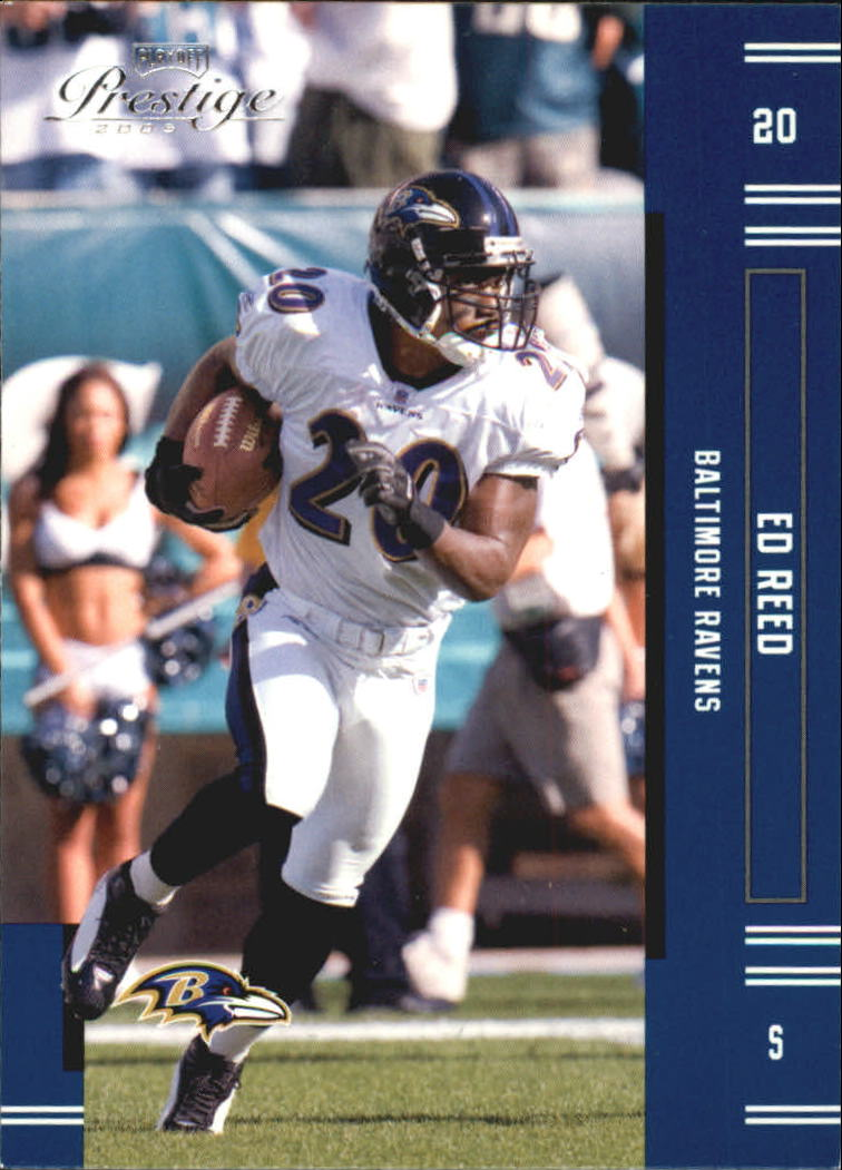 2005 Playoff Prestige #10 Ed Reed