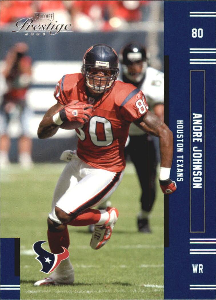 2005 Playoff Prestige #52 Andre Johnson