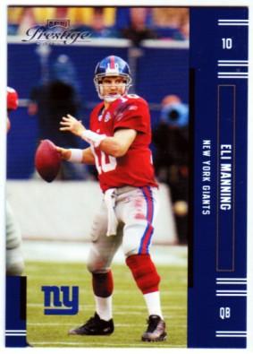 2005 Playoff Prestige #88 Eli Manning