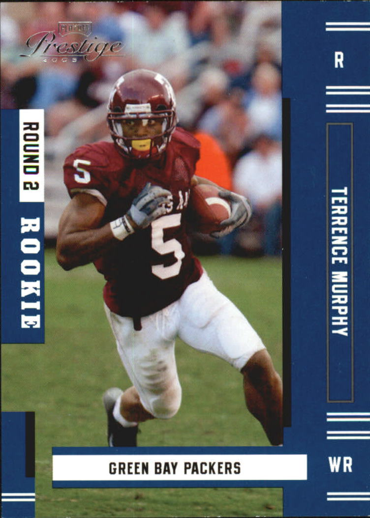2005 Playoff Prestige #212 Terrence Murphy RC