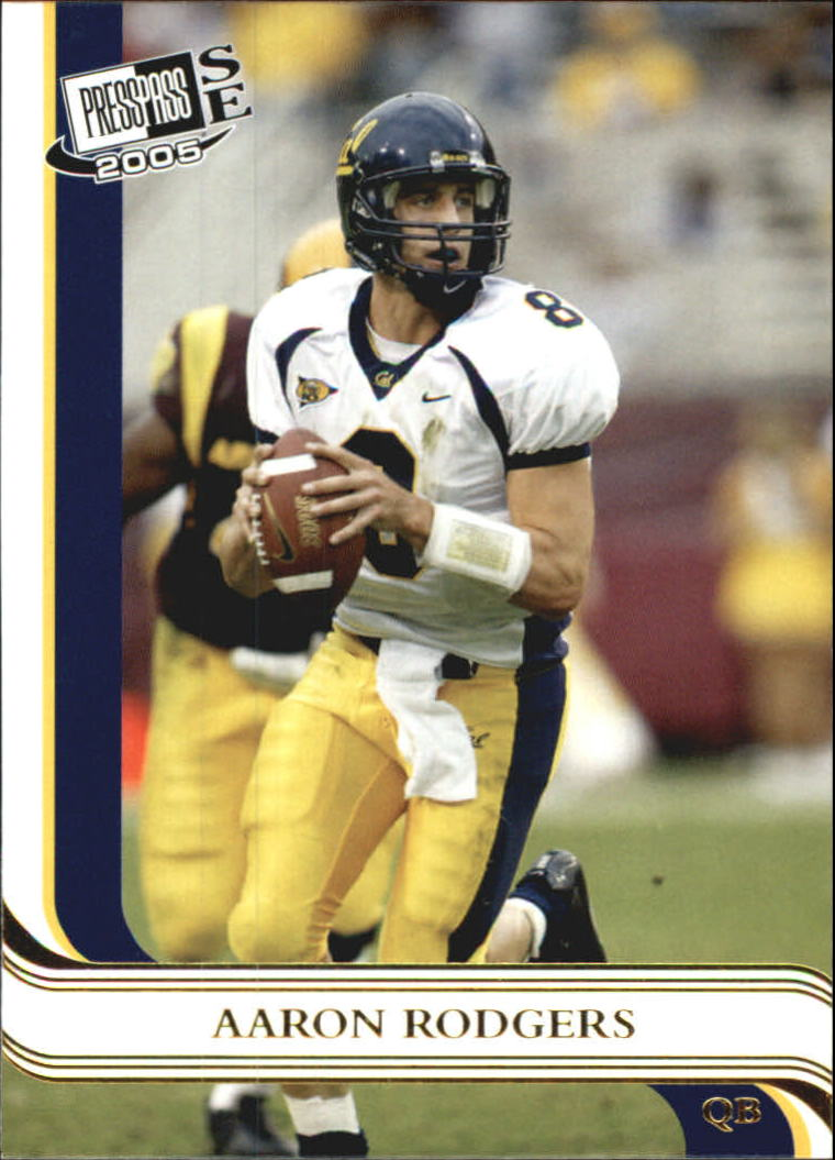 2005 Press Pass SE Gold #7 Aaron Rodgers