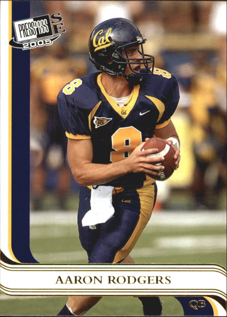 2005 Press Pass SE Gold #40 Aaron Rodgers CL