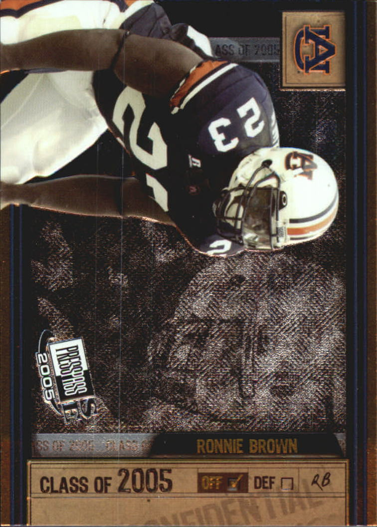 2005 Press Pass SE Class of 2005 #CL7 Ronnie Brown
