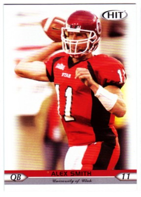 2005 SAGE HIT #11 Alex Smith QB