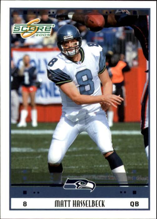 2005 Score #260 Matt Hasselbeck