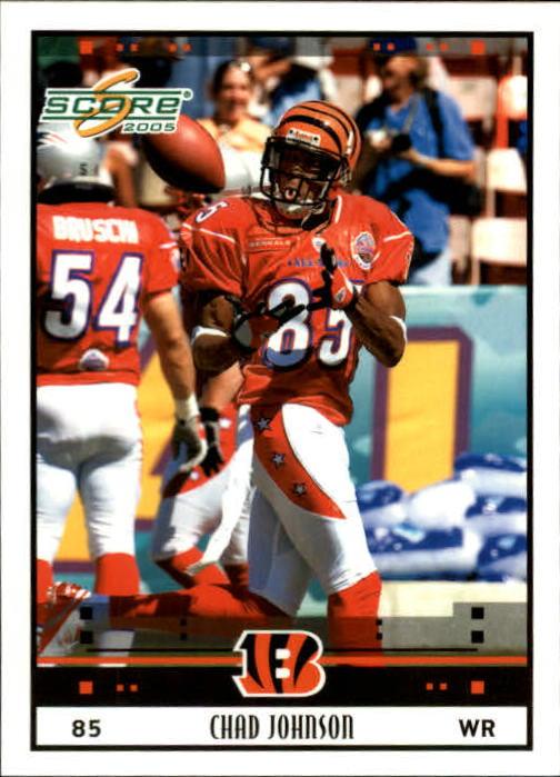 2005 Score #322 Chad Johnson PB