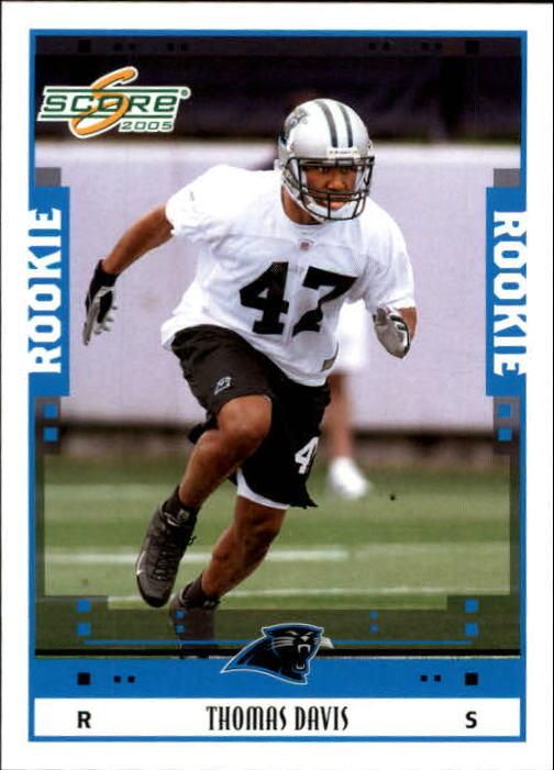 2005 Score #343 Thomas Davis RC
