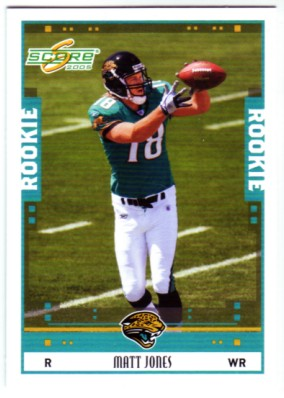 2005 Score #349 Matt Jones RC