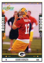 2005 Score #352 Aaron Rodgers RC