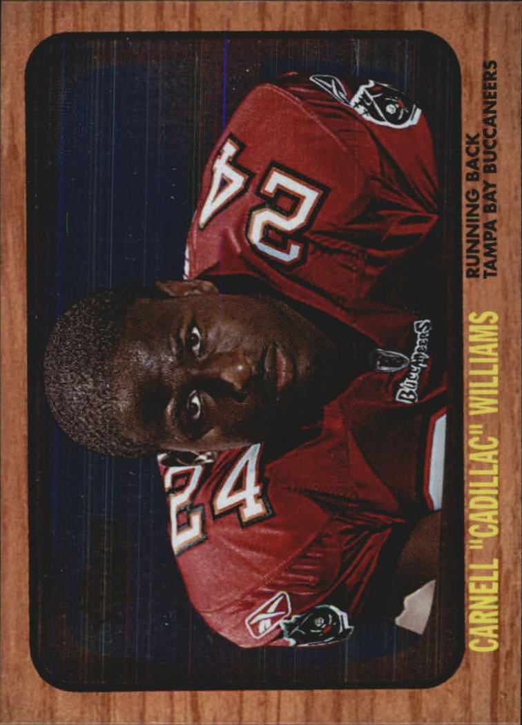 2005 Topps Heritage Foil #THC3A Cadillac Williams