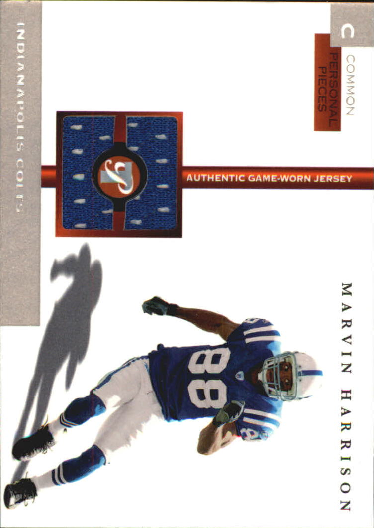 2005 Topps Pristine Personal Pieces Common  MHA Marvin Harrison 1000 a607d81d7