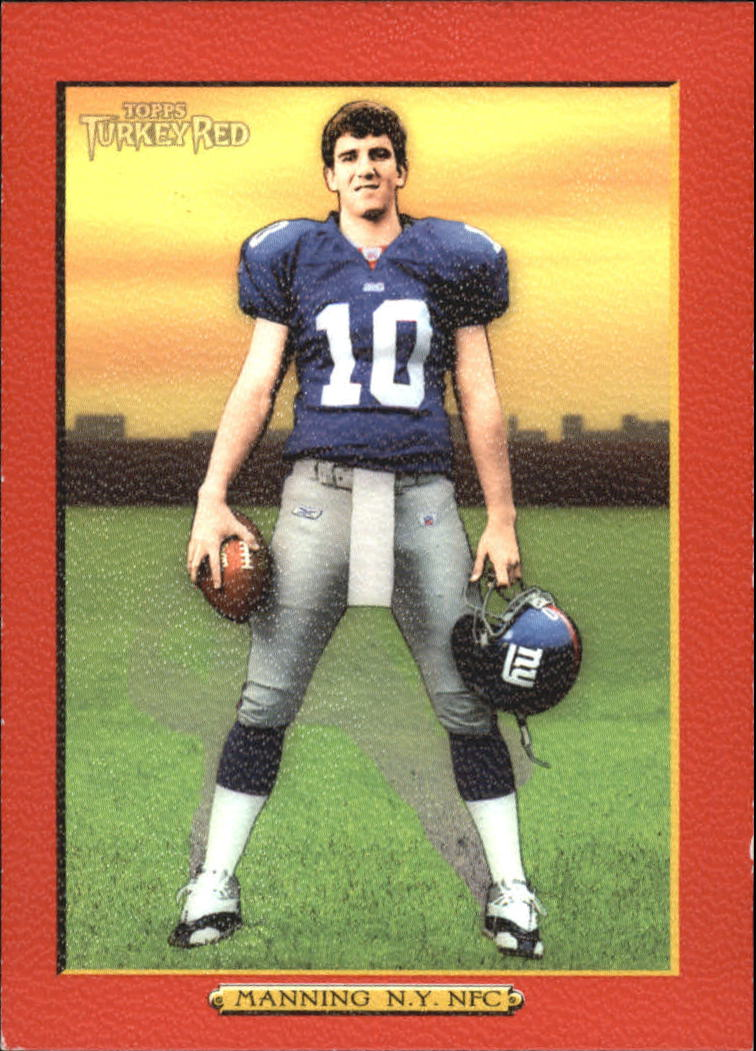 2005 Topps Turkey Red Red #1A Eli Manning