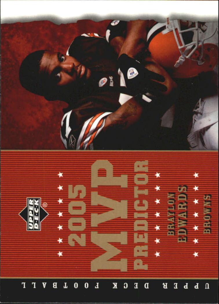 2005 Upper Deck MVP Predictors #MVP81 Braylon Edwards