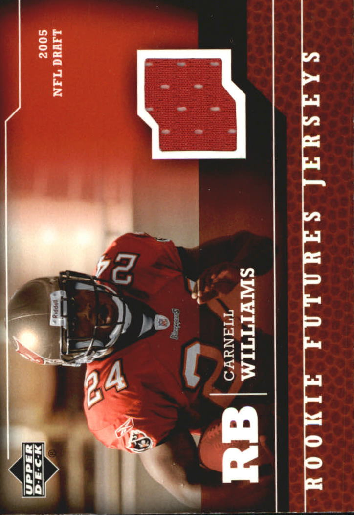 2005 Upper Deck Rookie Futures Jerseys #CW Cadillac Williams