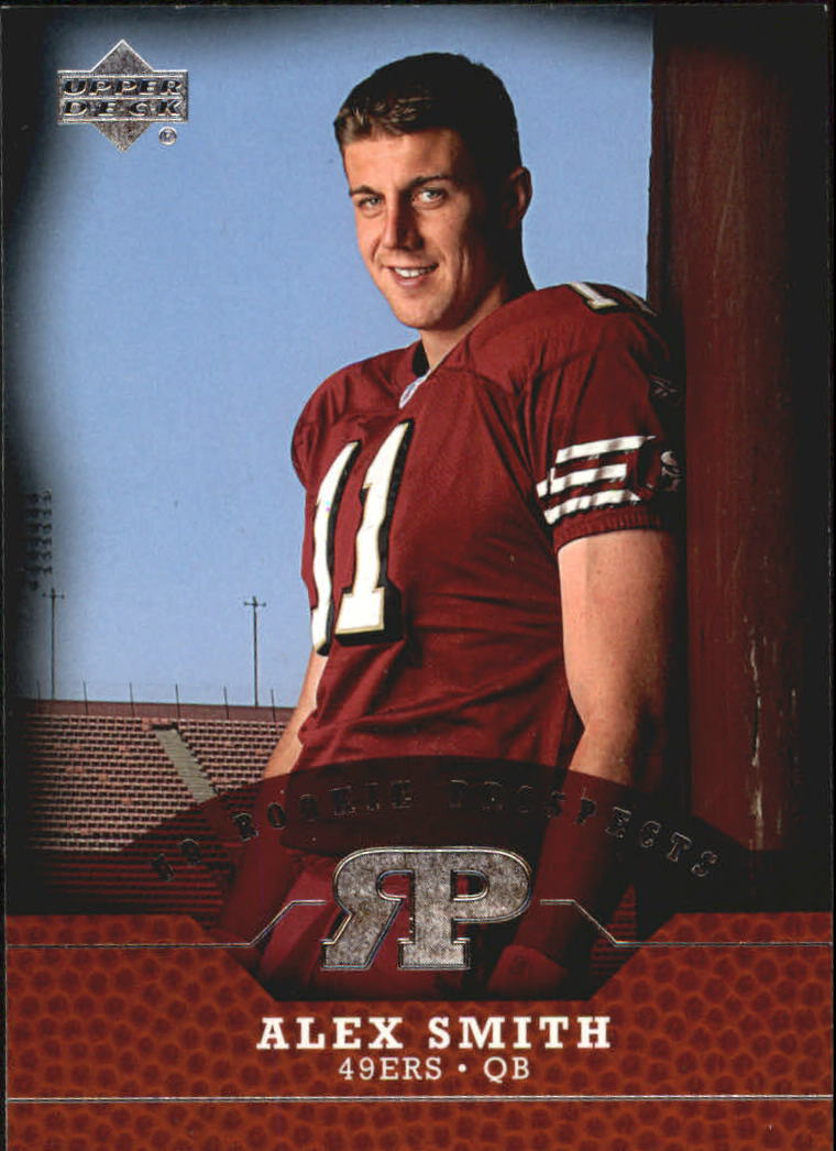 2005 Upper Deck Rookie Prospects #RPAS Alex Smith QB