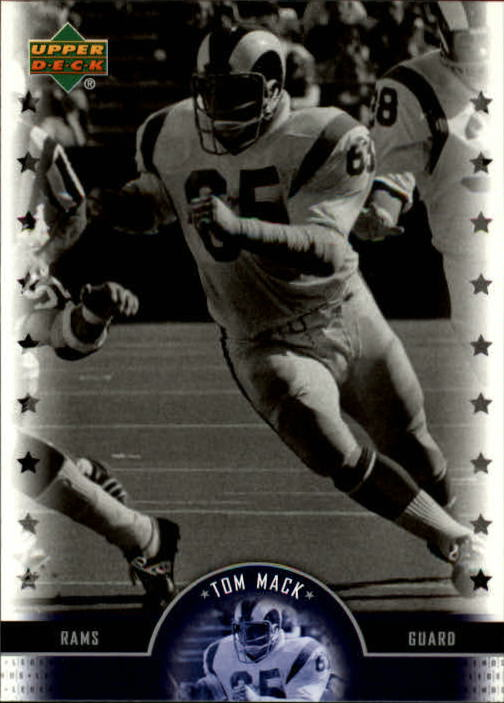 2005 Upper Deck Legends #20 Tom Mack