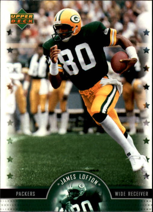 2005 Upper Deck Legends #49 James Lofton