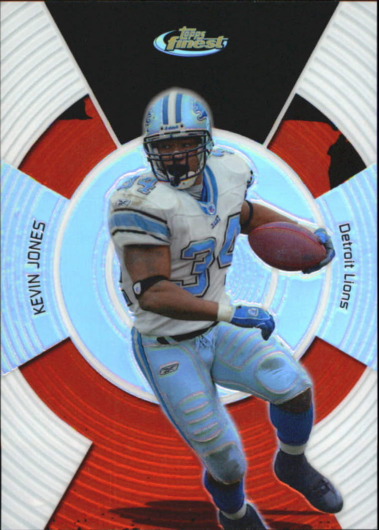 2005 Finest Refractors #2 Kevin Jones