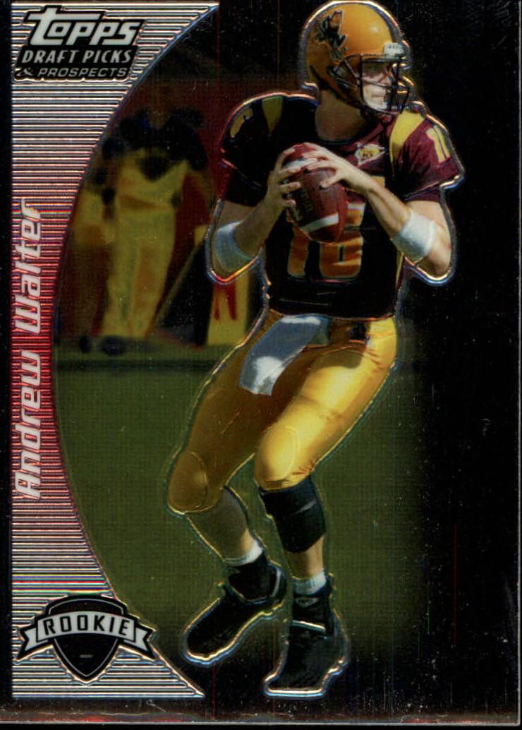 2005 Topps Draft Picks and Prospects Chrome #126 Andrew Walter