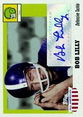 2005 Topps All American Autographs #ABL Bob Lilly/144*