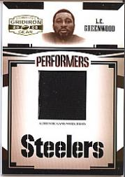 2005 Donruss Gridiron Gear Performers Jerseys #30 L.C. Greenwood/100