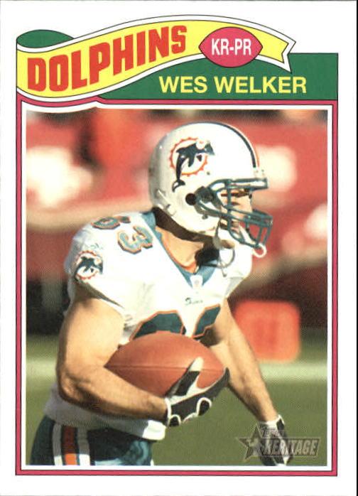 2005 Topps Heritage #149 Wes Welker