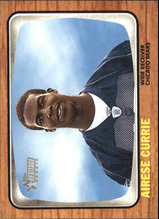 2005 Topps Heritage #257 Airese Currie RC