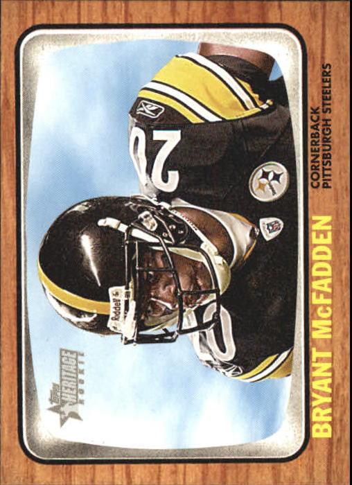 2005 Topps Heritage #298 Bryant McFadden RC