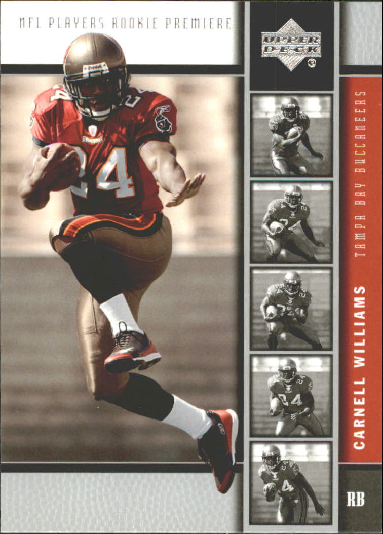 2005 Upper Deck Rookie Premiere #4 Cadillac Williams